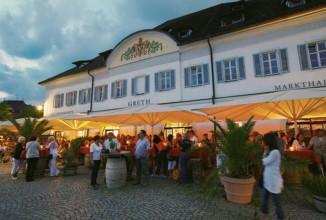 Domizil am Bodensee - Shoppen und Kulinarik: Greth mit Restaurants
